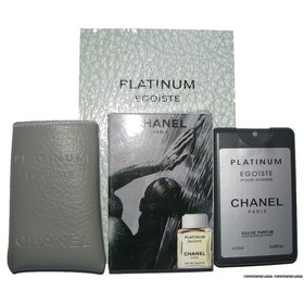 Chanel Platinum Egoiste edt 20ml+чехол